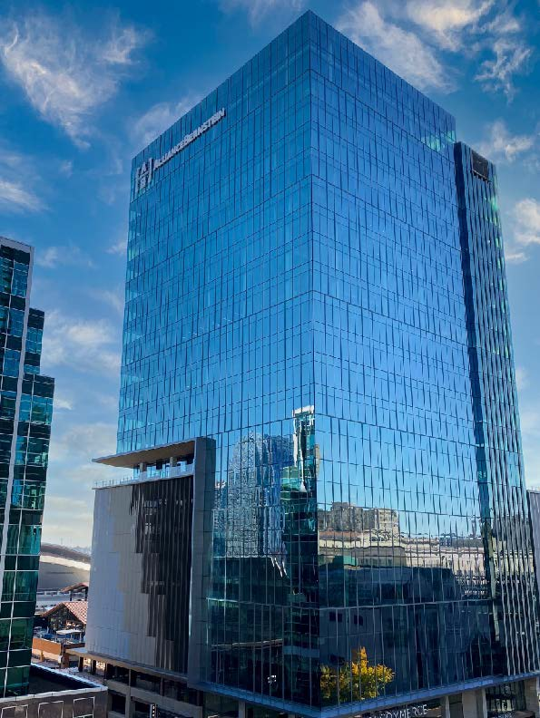 Image of AB's office building in Downtown Nashville, TN